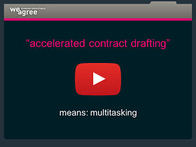 Contract automation multitasking