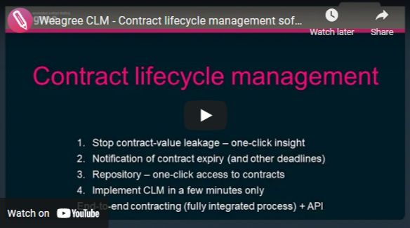 Contract Managem Contract Management Software